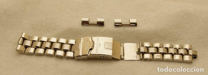 Relojes- Breitling: BREITLING ARMYS ACERO 20MM ORIGINAL 878A - Foto 11 - 198789232