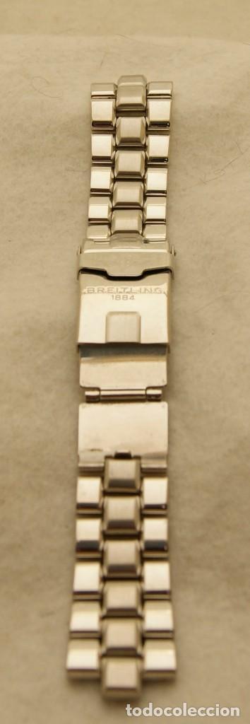 Relojes- Breitling: BREITLING ARMYS ACERO 20MM ORIGINAL 878A - Foto 4 - 198789232