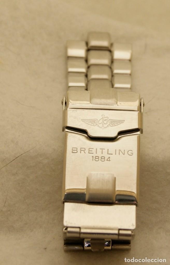 Relojes- Breitling: BREITLING ARMYS ACERO 20MM ORIGINAL 878A - Foto 5 - 198789232