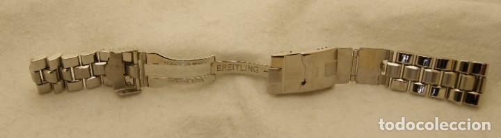 Relojes- Breitling: BREITLING ARMYS ACERO 20MM ORIGINAL 878A - Foto 8 - 198789232