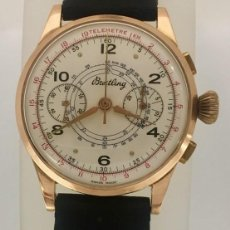 Relojes- Breitling: BREITLING CRONO ORO 18KTS.. Lote 189976067