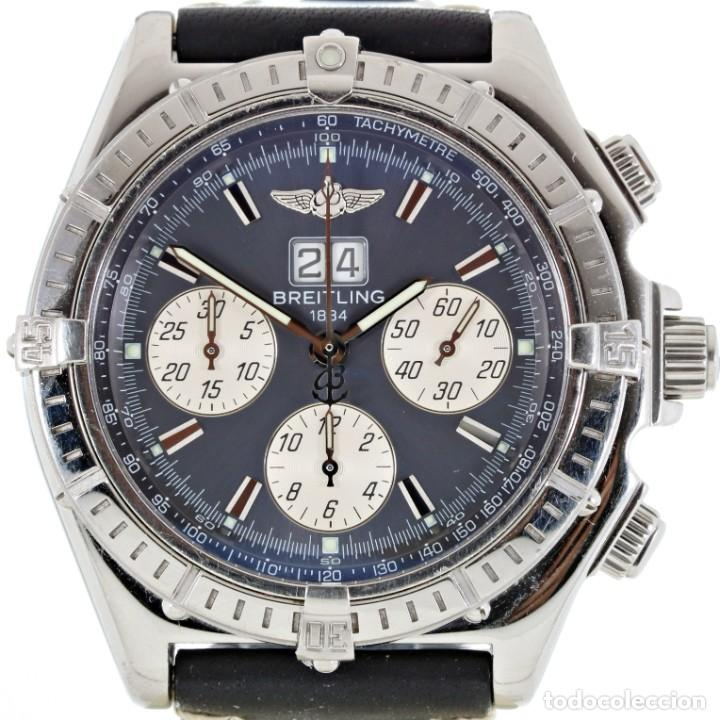 BREITLING CROSSWIND CRONÓGRAFO AUTOMÁTICO REF. A44355 CAJA Y PAPELES (Relojes - Relojes Actuales - Breitling)