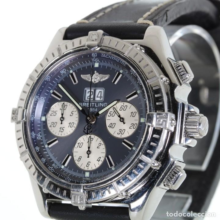 Relojes- Breitling: Breitling Crosswind Cronógrafo Automático ref. A44355 Caja y Papeles - Foto 3 - 206763016
