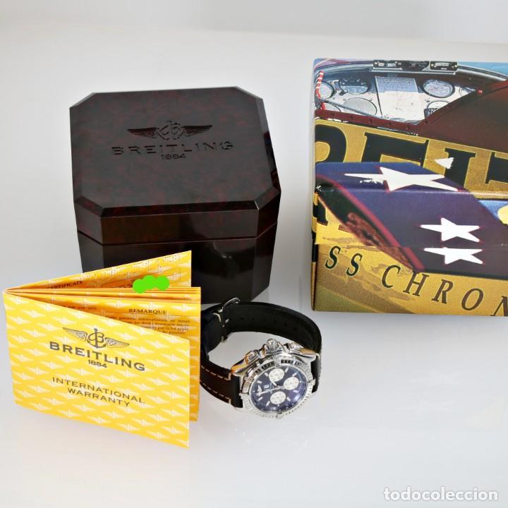 Relojes- Breitling: Breitling Crosswind Cronógrafo Automático ref. A44355 Caja y Papeles - Foto 10 - 206763016