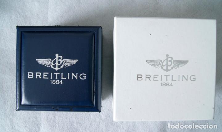 BREITLING CAJA CARTON + CAJA TIPO PIEL Y MADERA PARA RELOJ PULSERA (Relojes - Relojes Actuales - Breitling)