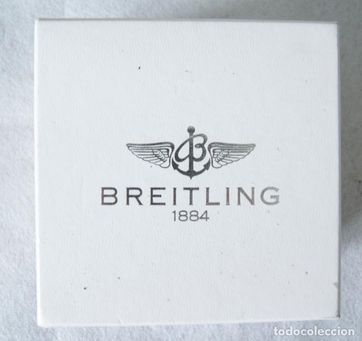 Relojes- Breitling: BREITLING CAJA CARTON + CAJA TIPO PIEL Y MADERA PARA RELOJ PULSERA - Foto 5 - 207004786