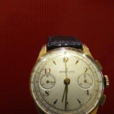 Relojes- Breitling: RELOJ BREITLING CRONOGRAFO ORO 18KLT. Lote 210031955
