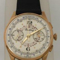Relojes- Breitling: BREITLING CRONO VINTAGE ORO 18KTS.. Lote 213986731