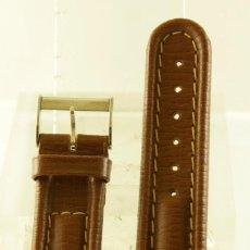 Relojes- Breitling: CORREA DE CUERO ORIGINAL BREITLING CON HEBILLA. Lote 233015980