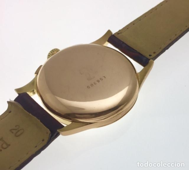 Relojes- Breitling: BREITLING VINTAGE CRONO ORO 18KTS.COMO NUEVO. - Foto 2 - 217573716