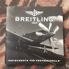 Relojes- Breitling: LIBRETO CATÁLOGO BREITLING DE 2004. SUISSA. DANI. 10.5 X 10.5. Lote 218512088