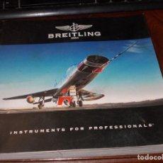 Relojes- Breitling: BREITLING CHRONOLOG 09, EN CASTELLANO, 125 AÑOS 1884-2009. Lote 222497330
