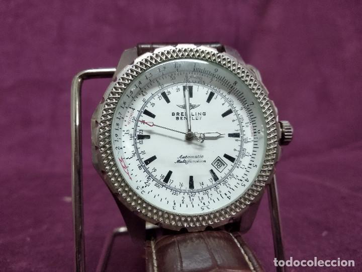 RELOJ DE PULSERA, BREITLING BENTLEY, CREO QUE COPIA DE CALIDAD, A REVISAR (Relojes - Relojes Actuales - Breitling)