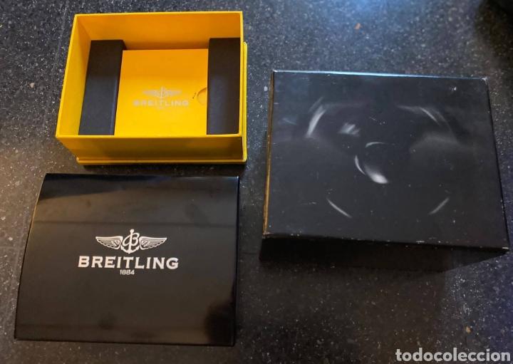 ESTUCHE PARA RELOJ BREITLING ( DEL AÑO 2007) (Relojes - Relojes Actuales - Breitling)