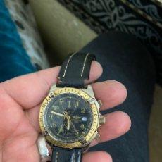 Relojes- Breitling: RELOJ BREITLING CRONÓGRAFO CUARZO FUNCIONA. VER LAS IMÁGENES. Lote 238044315