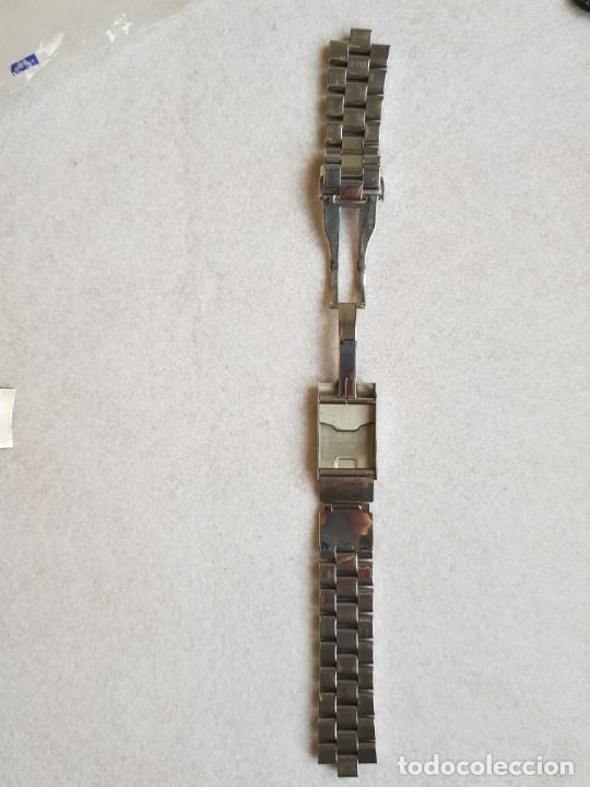Relojes- Breitling: BREITLING S100 BRAZALETE O ARMYS ACERO SEMINUEVO 17CM PARA 20MM CON EDLINKS - Foto 9 - 242452570