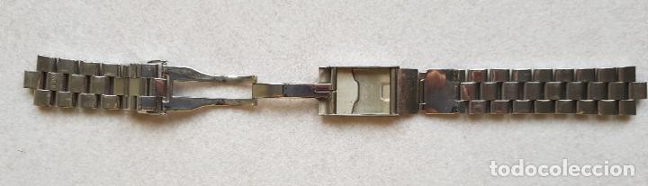 Relojes- Breitling: BREITLING S100 BRAZALETE O ARMYS ACERO SEMINUEVO 17CM PARA 20MM CON EDLINKS - Foto 12 - 242452570