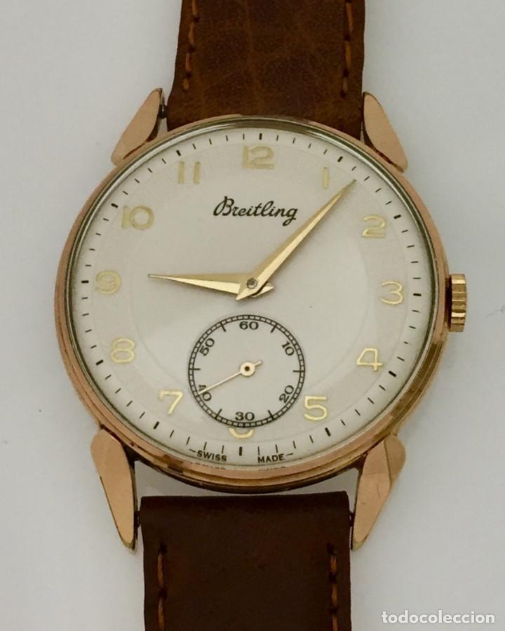 BREITLING VINTAGE-PLAQUÉ ORO (Relojes - Relojes Actuales - Breitling)