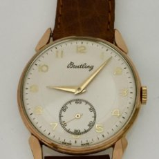 Relojes- Breitling: BREITLING VINTAGE-PLAQUÉ ORO. Lote 253753805