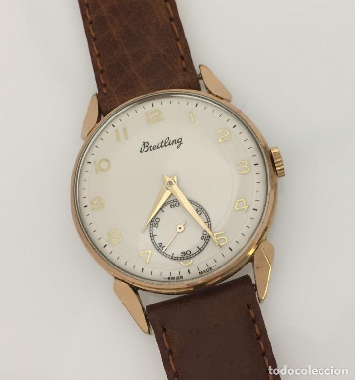 Relojes- Breitling: BREITLING VINTAGE-PLAQUÉ ORO - Foto 4 - 253753805