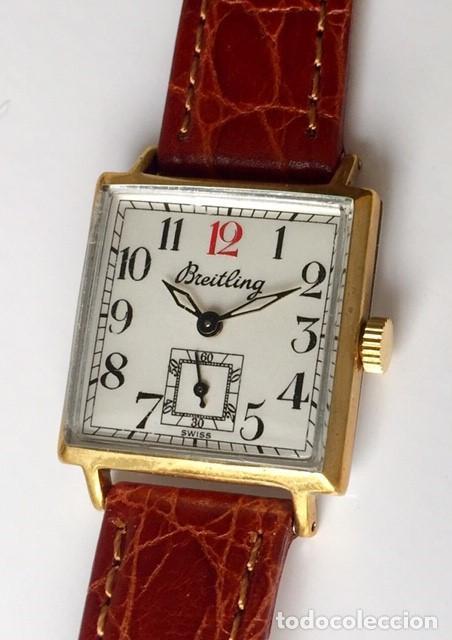 BREITLING VINTAGE-PLAQUE ORO- DE MUJER. (Relojes - Relojes Actuales - Breitling)