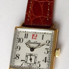 Relojes- Breitling: BREITLING VINTAGE-PLAQUE ORO- DE MUJER.. Lote 255657075