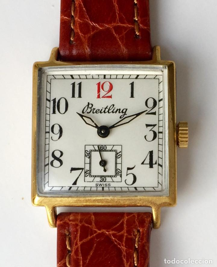 Relojes- Breitling: BREITLING VINTAGE-PLAQUE ORO- DE MUJER. - Foto 3 - 255657075