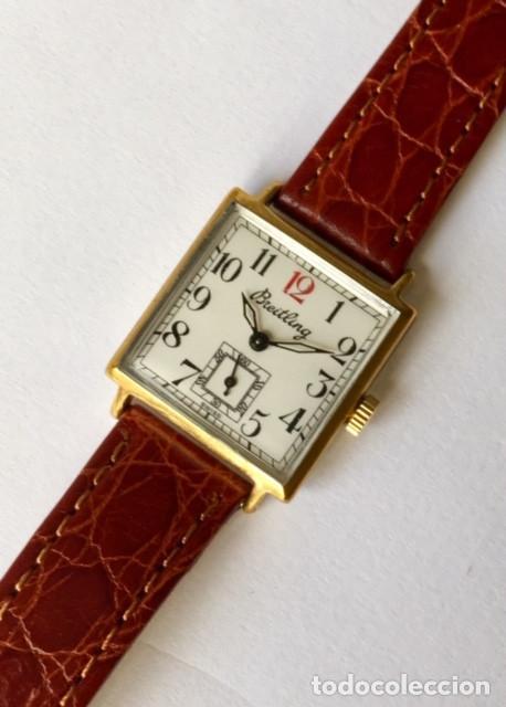 Relojes- Breitling: BREITLING VINTAGE-PLAQUE ORO- DE MUJER. - Foto 2 - 255657075