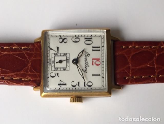 Relojes- Breitling: BREITLING VINTAGE-PLAQUE ORO- DE MUJER. - Foto 4 - 255657075