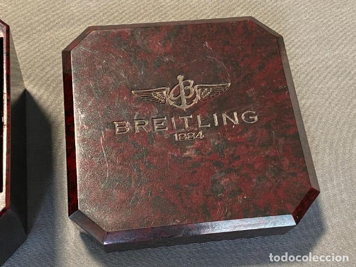 Relojes- Breitling: caja de reloj BREITLING , bakeliite , en buen estado y vacía - Foto 4 - 264810299