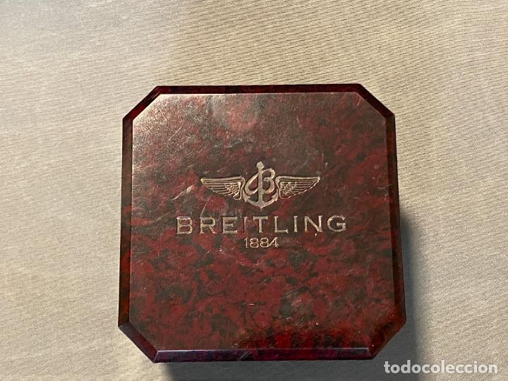 Relojes- Breitling: caja de reloj BREITLING , bakeliite , en buen estado y vacía - Foto 9 - 264810299
