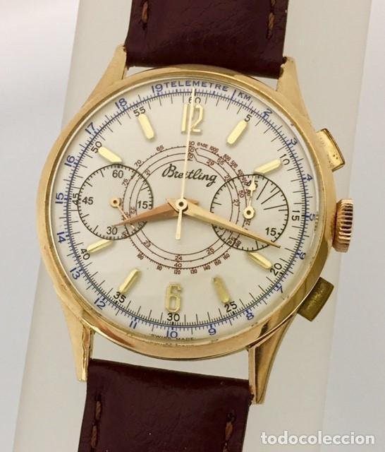 BREITLING ORO 18KTS.CRONO C.1940-45 (Relojes - Relojes Actuales - Breitling)