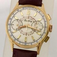 Relojes- Breitling: BREITLING ORO 18KTS.CRONO C.1940-45. Lote 265866254