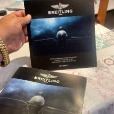 Relojes- Breitling: BREITLING CATALOGO Y INSTRUCCIONES PROFESIONALES 2010/2011 . VER FOTOS. Lote 270407538