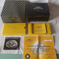 Relojes- Breitling: BREITLING CAJA BAQUELITA CON MANUAL RELOJ CHRONO COLT. Lote 270590093