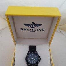 Orologi- Breitling: BREITLING COLT 80180 PVD CUARZO BISEL GIRATORIO CON CAJA FUNCIONANDO. Lote 276247208