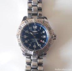 Relojes- Breitling: RELOJ AUTOMÁTICO BREITLING SUPEROCEAN CHONOMETRE 1.500 M. MUY BUEN ESTADO.FUNCIONANDO PERFECTAMENTE. Lote 280636043
