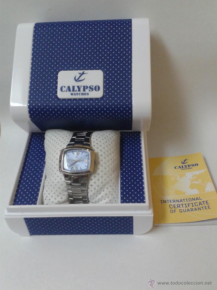 Relojes - Calypso: RELOJ DE MUJER CALYPSO MODELO K5174, NUEVO A ESTRENAR - Foto 2 - 51423337