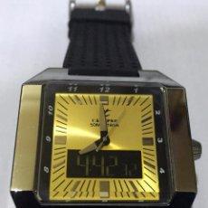 Relojes - Calypso: CALYPSO QUARTZ - ANALOGICO/ DIGITAL 47X43 M/M. ALL ACERO.. Lote 54148657