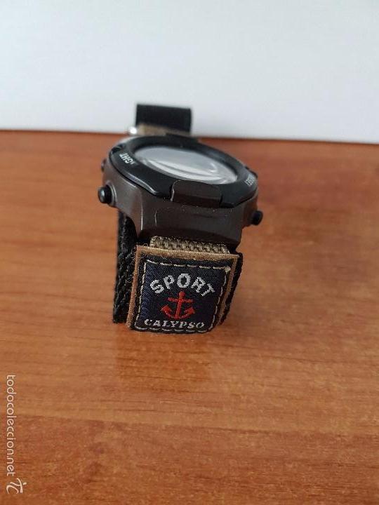 Relojes - Calypso: Reloj de caballero de cuarzo digital marca Calypso multifunción con correa de velcro, para su uso - Foto 3 - 58707284