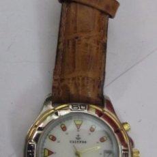 Relojes - Calypso: RELOJ CALYPSO DE CUARZO CHAPADO EN ORO. Lote 104613347