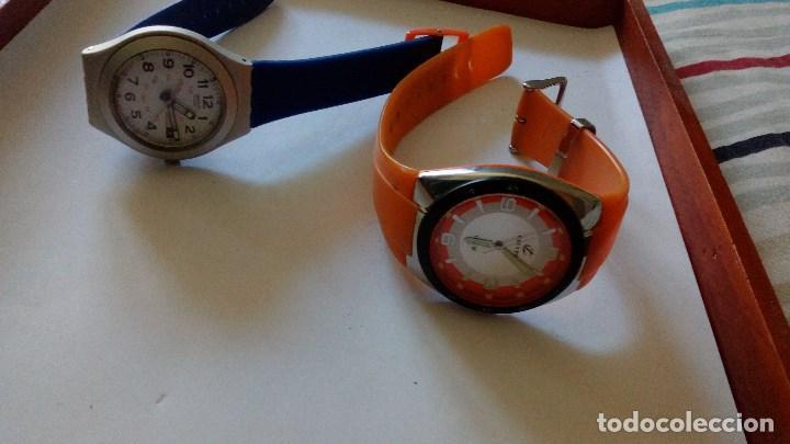 Relojes - Calypso: CONJUNTO DE DOS RELOJES DE CUARZO SWATCH Y CALYPSO - Foto 2 - 116388627