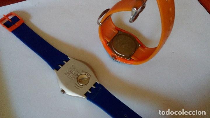 Relojes - Calypso: CONJUNTO DE DOS RELOJES DE CUARZO SWATCH Y CALYPSO - Foto 5 - 116388627