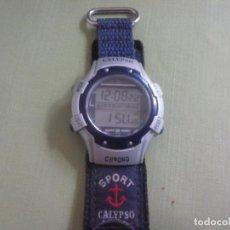 Relojes - Calypso: RELOJ DIGITAL CALYPSO SPORT. FUNCIONANDO.. Lote 117452119