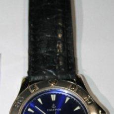 Relojes - Calypso: CALYPSO CAJA DE ACERO , SEGUNDERO ,CALENDARIO ,MECANISMO MIYOTA QUARTZ 6M12. Lote 122940803