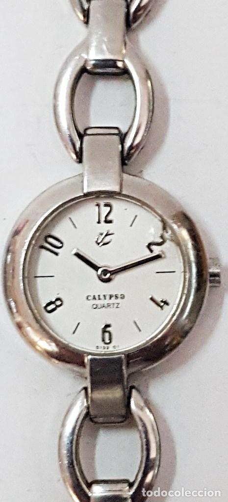 RELOJ CALYPSO DE SEÑORA DE METAL. (Relojes - Relojes Actuales - Calypso)