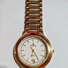 Relojes - Calypso: JUNGHANS 41/1101 603,/ 34,5 M/M.C/C.SEGUNDERO,CALENDARIO,RONDA QUARTZ 1JEWELS.. Lote 131930834