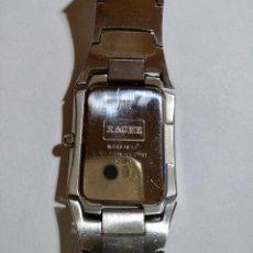 Relojes - Calypso: RACER QUARTZ,39X29 M/M.-C/C.SEGUNDERO,CRISTAL MINERAL,ALL ACERO, PULSERA MAXI. 175 M/M.. Lote 131938326