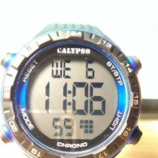 Relojes - Calypso: RELOJ CALYPSO CHRONO EN SU CAJA ORIGINAL. Lote 133359366