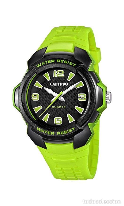 Relojes - Calypso: Reloj Chico sumergible Calypso (nuevo) piscina deporte acuático atmosferas metros impermeable watch - Foto 5 - 138006706